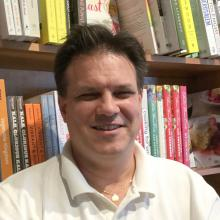 Chris has almost 20 years' experience in bookselling working in every level of a bookstore.