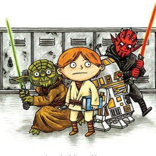 Star Wars: Jedi Academy - Science Fiction recommended for fourth grade students.