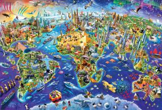 Crazy World - 2000 Piece Jigsaw Puzzle