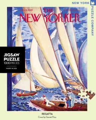 New Yorker Regatta - 1000 Piece Jigsaw Puzzle