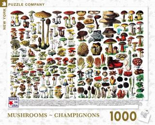 Mushrooms~Champignons - 1000 Piece Jigsaw Puzzle