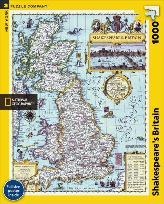 Shakespeare's Britain - 1000 Piece Jigsaw Puzzle