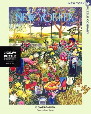 Flower Garden - 1000 Piece Jigsaw Puzzle