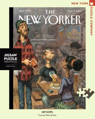 New Yorker Hip Hops - 1000 Piece Jigsaw Puzzle