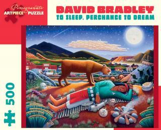 David Bradley To Sleep, Precahnce To Dream - 500 Piece Jigsaw Puzzle