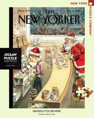 Santa's Little Helpers - 1000 Piece Jigsaw Puzzle - Box Front
