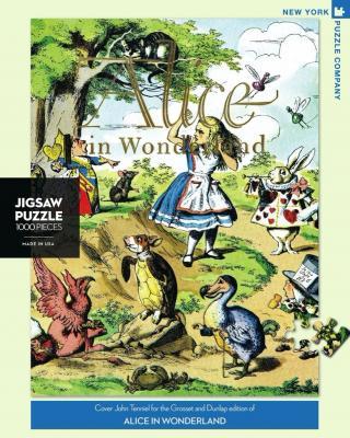 Alice in Wonderland - 1000 Piece Jigsaw Puzzle - Box Front