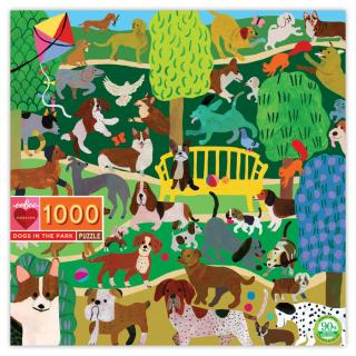 Dogs at Play - 100 Piece Jigsaw Puzzle