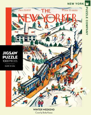 Winter Weekend - 1000 Piece Jigsaw Puzzle - Box Front